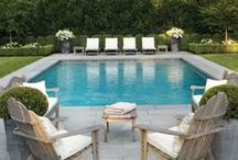 Luxurious Backyard Pools / Beautiful backyard pool landscaping ideas that make a splash. The backyard pool is a great place for family and friends to gather around - to cool off on hot summer days, or a place to lounge on the beautiful ones.
