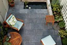 Patio Ideas / Smart patio designs that provide stylish decor creates a perfect outdoor space  and does NOT have to be costly!