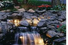 Water Features / Water features provide a calming presence to any outdoor venue.
