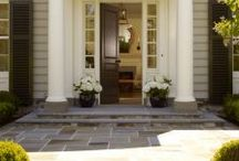 Paver Entryways / The entryway to your home should welcome friends like open arms