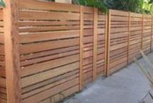 Fences / Different fencing options.