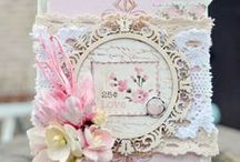 CARD INSPIRATION - shabby chic / pretty cards