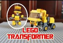 LEGO Cars & Trucks / LEGO Cars / Trucks Tutorials & Animation