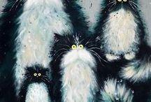 Koty obrazki / Obrazy, ilustracje, obrazki kotów