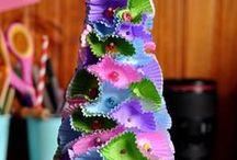 Zrób to sam - Święta / Prace plastyczne dla dzieci związane ze świętami, zimą