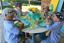 Boy Tea Party / because tea parties are for boys too!  cute ideas & tips