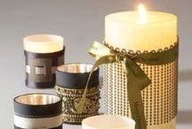 Candles / Creative candles, DIY, supplies, candle making