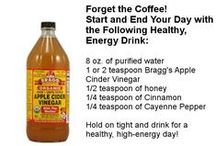 Apple Cider Vinegar & Its Many Uses / Ideas, suggestions, information about the many uses of Apple Cider Vinegar (ACV)