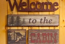 Blog place-come on in & feel at home! / Cabin at lake-casual, relaxed, vintage, masculine, comfy