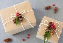 Wrap It Up (Gift Wrapping) / Unique and creative gift wrap for the whole year! #giftwrap #wrapping #gifts
