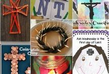Lent / Learning activities, books, crafts, & more for Lent