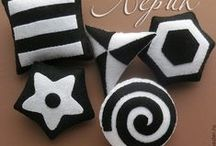 Черно-белое для малышей