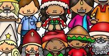 Christmas Around The World / Activities, crafts, books, & resources to help you & your family learn about Christmas Around The World