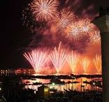 "Redentore Venice Fireworks / Every year in July: #Redentore Feast in #Venice. The ""Redentore"" is the most important feast for the venetians, with a beautiful firework show in the night which charms thousands of visitors."