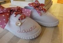 MIS ZAPATILLAS PERSONALIZADAS / Zapatillas personalizadas bordadas y decoradas a mano.