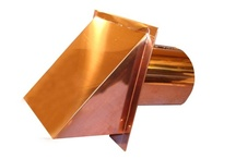 Copper and Stainless Steel Outside Metal Vent Covers / Luxurymetals.com was established to provide easy access to attractive, high quality, heavy duty exterior metal vents for your residential, multi-family or commercial building.