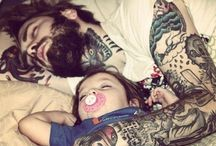 Hot ink / Inked men, dads / by Melissa Paterson