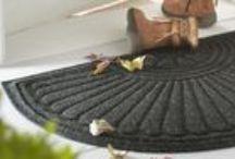 Doorstep Mats / Outdoor mats that stand up to the weather. #DoorstepMats