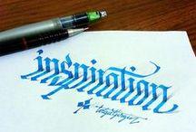 Caligrafía y Lettering / Caligrafía/Lettering