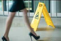 Floor Safety / Trips, slips and falls in the workplace. #FloorSafety