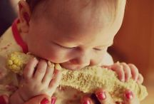 Baby Led Feeding Info & Recipes / Skipping purées and going straight to food - basically Baby Led Weaning, but I don't like the inference that food = weaning from the breast.