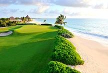 Golf Vacations / Vacation destinations for golfing, top travel ideas for golf, top vacation rentals to golf at