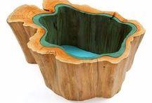 wood - furniture & interior / wooden furniture and interior design