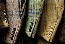 Tweed fantastic / Our love of Scottish and heritage fabrics continues with Harris tweed and some lovely tweed clothing and interiors products