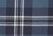 The best blue tartans / A great selection of blue tartans