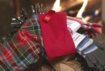 A tartan christmas / A few delightful tartan creations to add a touch of Scottish charm to christmas celebrations.