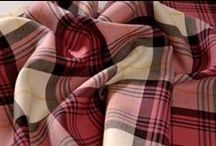 Pink tartan heaven / Some favourite pink tartans and checks for girlie inspiration