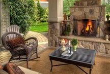 Home: Outdoor Spaces / by A Little Bit Sassy