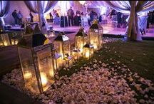 Lighting Design / A luxury wedding isn't complete without spectacular lighting design!