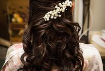 "Hairstyles / Inspirational ideas for wedding hair styles that will have you saying ""I Do"" in fashion."