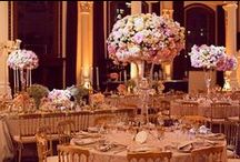 Centerpieces & Table Decor / Dive into the lush details of wedding table decorations including table settings, centerpieces, chairs, linens, florals, menus and more!