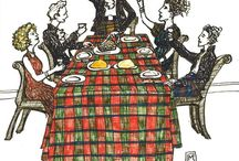 Celebrate Burns Night January 25th / Burns Night is a special night for Scots, poets and anyone who enjoys toasting the haggis, having a wee dram and reciting Robbie Burns famous work