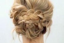 Inspirações: cabelo / Inspirações de penteados fáceis para o dia a dia, só pra dar um tchans, ou mais completos para festas e eventos.