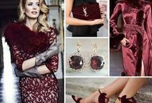 Marsala - 2015 Color of the Year / This hearty, yet stylish tone is universally appealing and translates easily to wedding planning, fashion and beauty.