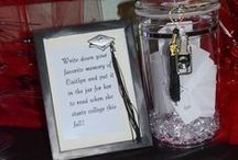 Graduation Ideas / Great Ideas for Graduation Parties and celebrating the graduate / by Stephanne Moorehead