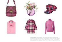 Colour Me Tartan - Savanna Pink / Colour me Tartan - Savana Pink is our colour of the month for August #COTM #tartan #pink