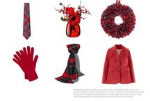 Colour Me Tartan - Christmas Red / Our Colour of the Month for December is Christmas Red!