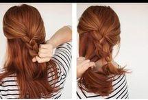 How to penteados / Montagens do passo a passo de vários penteado.