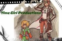 Time Girl Productions / This is 3 movies and a comic book series idea my kids and I have been working on the last six years. We are finally getting art and writing done and on our way to doing a Kickstarter. Live action webisodes are coming in June 2016!