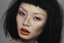 Sardas / Inspirações de maquiagem para quem tem sardas.
