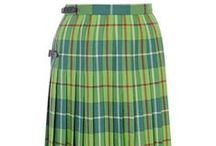 Colour Me Tartan - Spring green / In April we are celebrating the joys of Spring