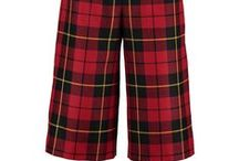 Tartan Trends - Culottes / You can rely on us to bring you all the latest tartan trends and this season we are hot on the trail of the re-incarnation of a style you maybe thought was gone for good. Culottes. Yes they are back and yes of course we are making them in tartan.