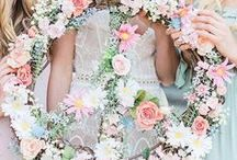 Boho Chic Weddings / Bohemian is the of-the-moment style. Stay on-trend with these effortless, free-spirited ideas for a boho chic wedding.
