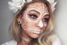 Maquiagens de Halloween / Ideias de maquiagem para curtir o Halloween