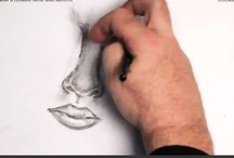 How to Draw the Human Nose and Mouth / Learn how to draw the human nose and mouth with the professional artist. / by How To Draw