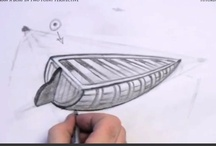 How to Draw a Boat in 2 Point Perspective / by How To Draw